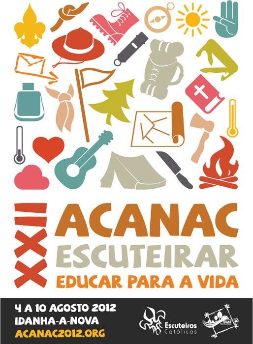 XXII Acanac / Idanha-a-Nova / 4 a 10 de Agosto de 2012 Cartaz10