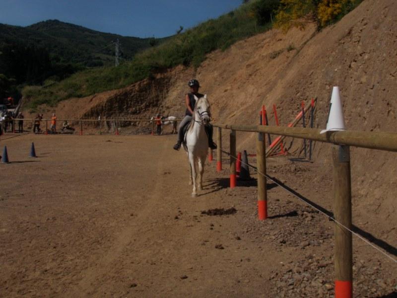 Prueba práctica en Aravalle P1010033