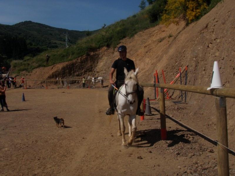 Prueba práctica en Aravalle P1010035