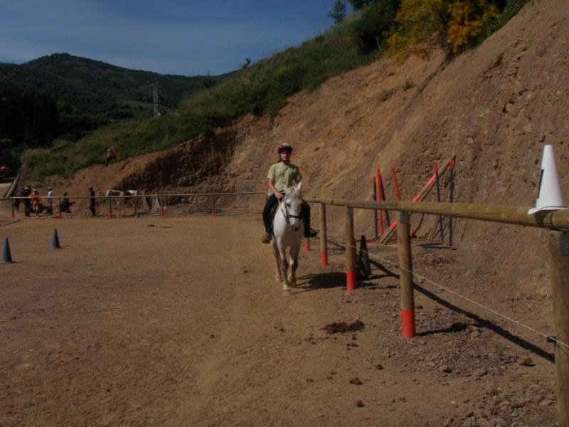 Prueba práctica en Aravalle P1010038