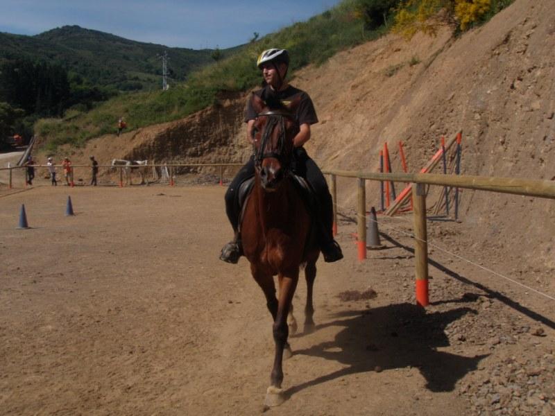 Prueba práctica en Aravalle P1010039
