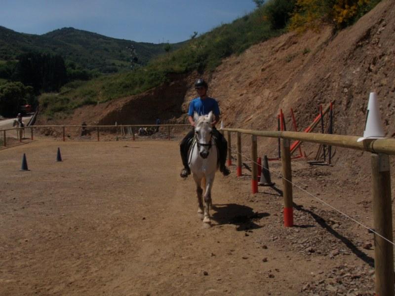 Prueba práctica en Aravalle P1010042