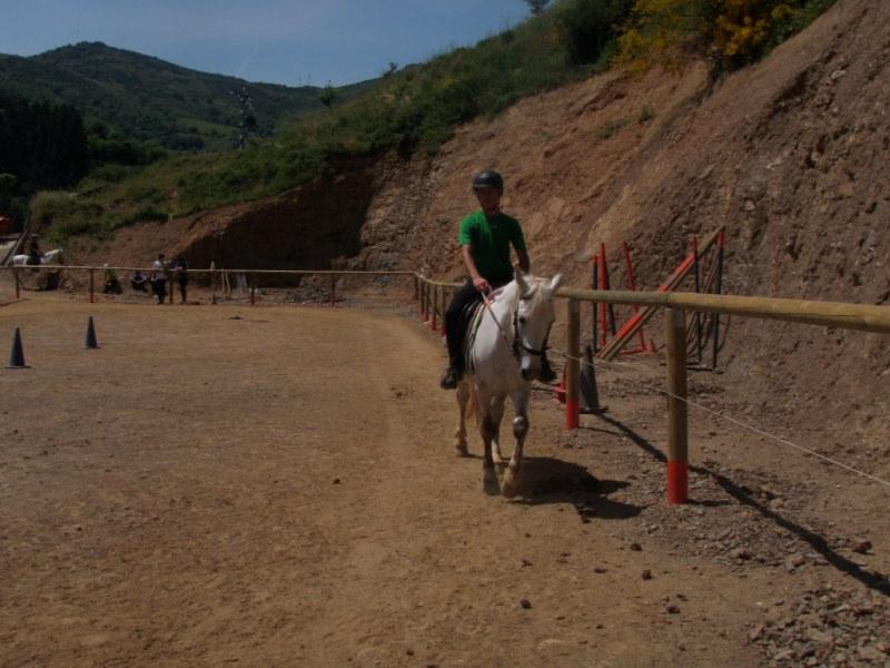 Prueba práctica en Aravalle P1010044
