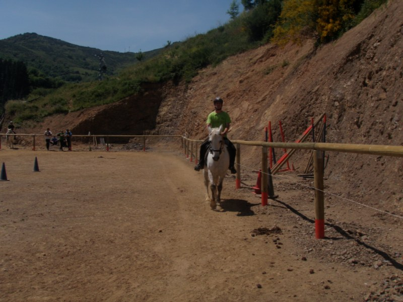 Prueba práctica en Aravalle P1010046