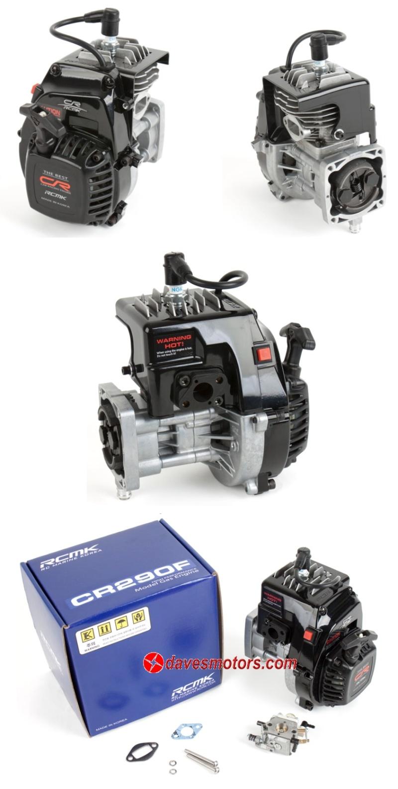 Moteur RCMK CR290F 28.5cc et Moteur RCMK CR300B 29.5cc Bb70511