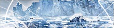 La mer gelée.
