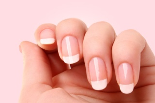 Females nails French10