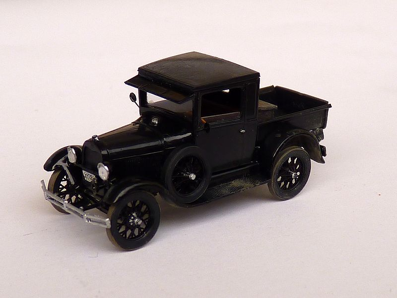 1928 Model A Ford Pickup Truck, 1:87 P1100012