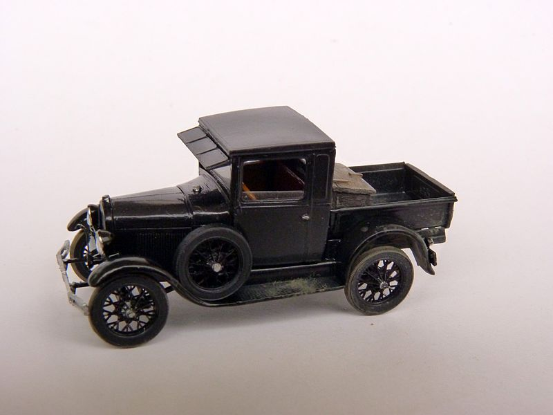 1928 Model A Ford Pickup Truck, 1:87 P1100014