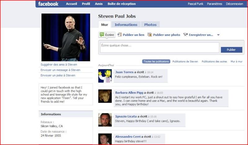 Joyeux Anniversaire Steve Jobs