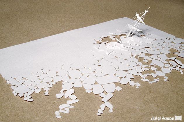 النحت في الورق Paperc14