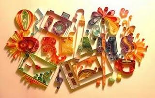 حين تصبح قصاصات الورق لوحات فنية مدهشة  Quilli11