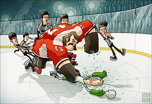 10 ans déjà.............. Hockey10