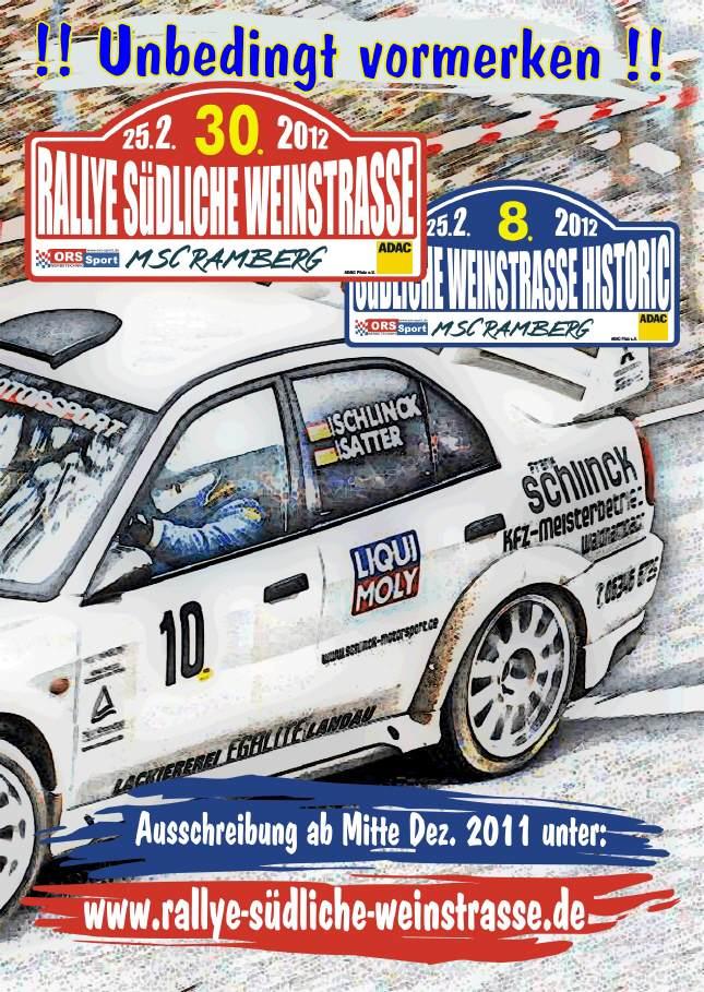 Rallye SÜW 2012 Flyer-10