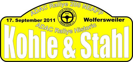 Rallye Kohle & Sthal 2011 Logo-w10