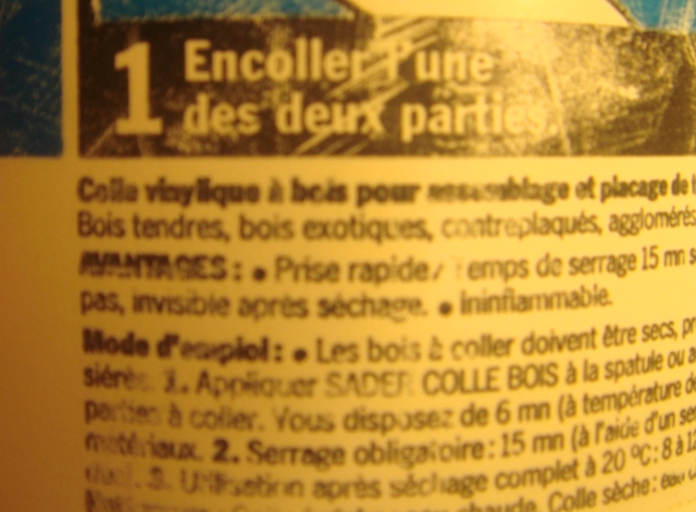 colle - Quelle colle choisir ?? - Page 3 Colle10