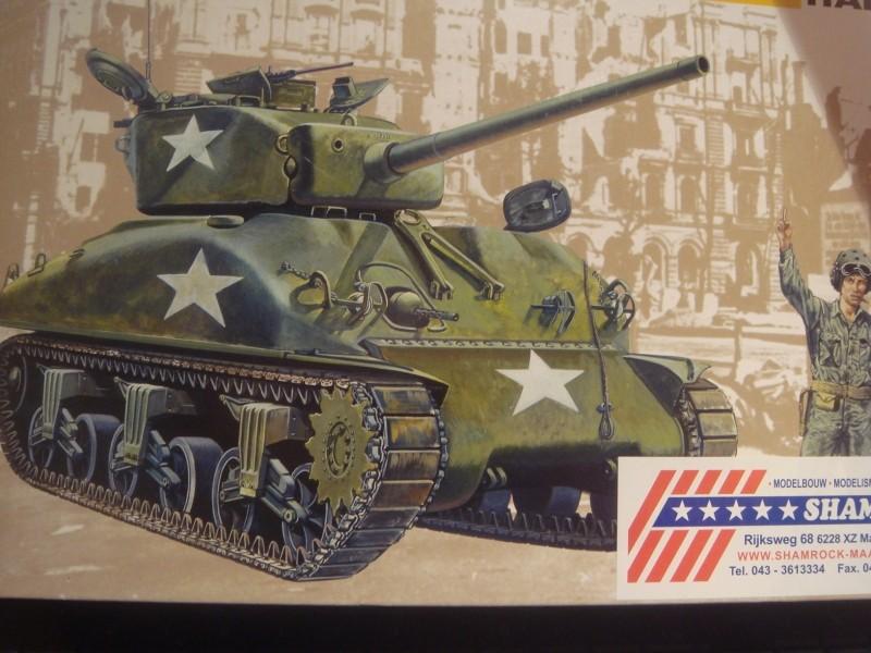 SHERMAN M4-A1 au 1/35è par l'ancien Sherma12