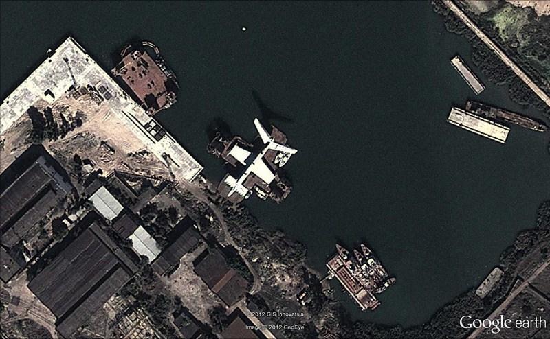 Le monstre de la mer Caspienne, l'ekranoplane - Russie  - Page 3 2012-170