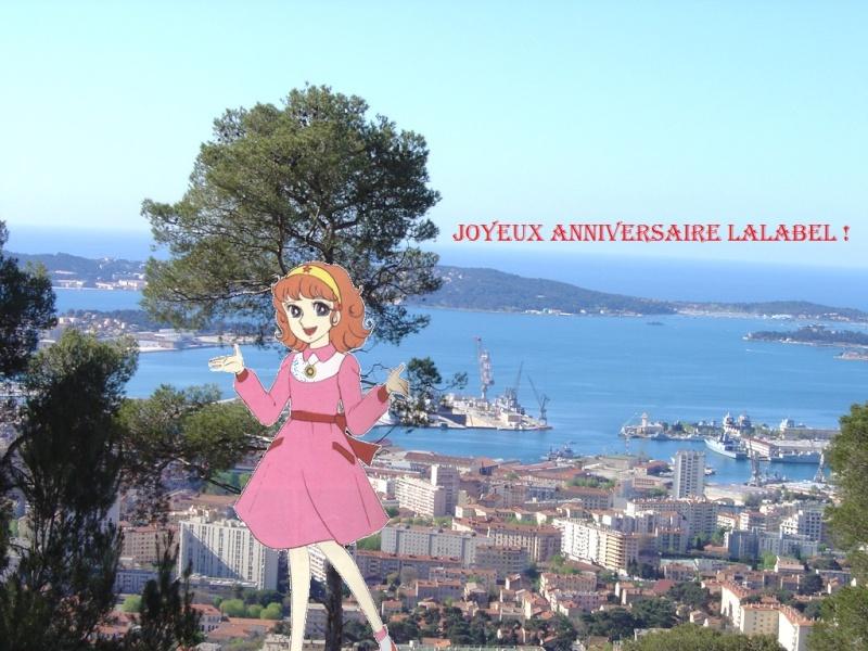 Joyeux anniversaire Lalabel 21juin10