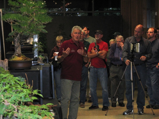 Walter Pall at the Carolina Bonsai Expo Pictur16