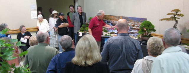Walter Pall at the Carolina Bonsai Expo Pictur17