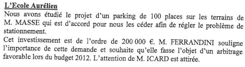 Sécurité Ecole Aurélienne Aureli10