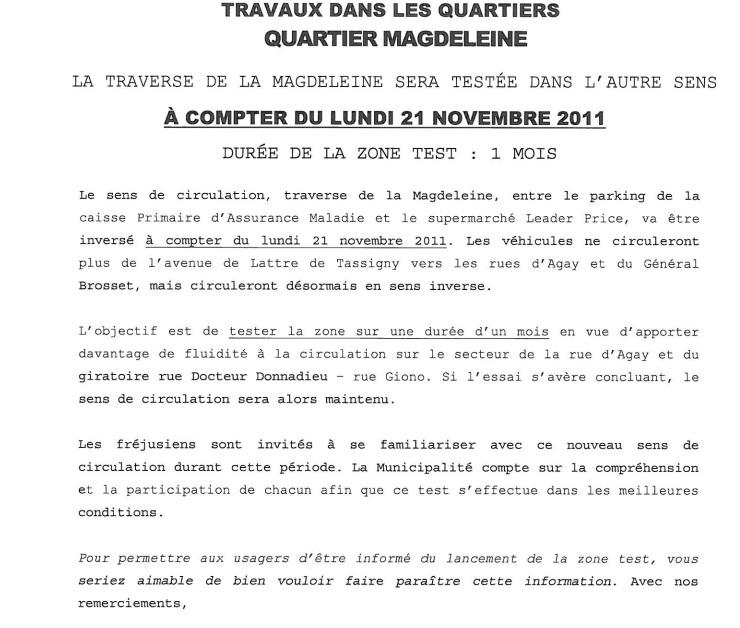 Aménagement circulation secteur de la Magdeleine Quarti10