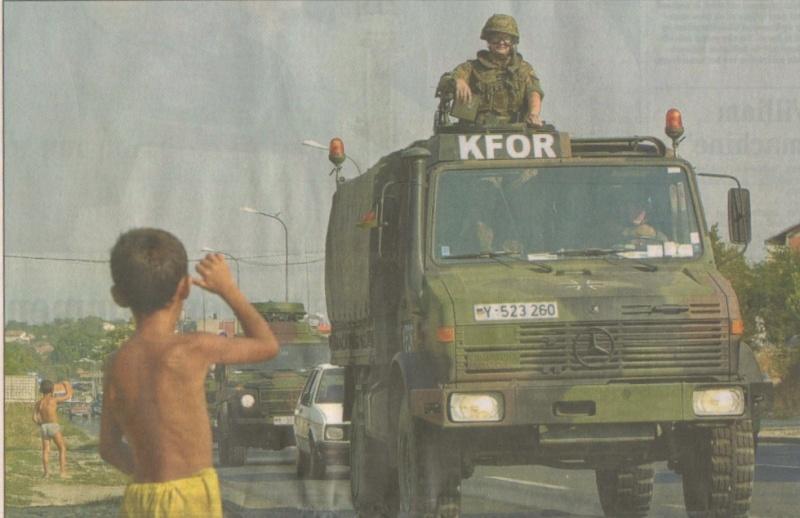 les unimog dans l'armée française Kfor10