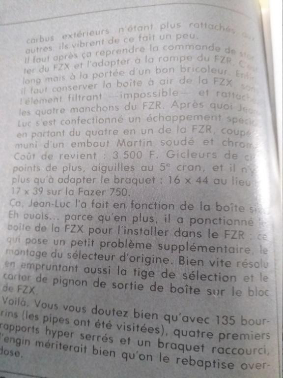 FZ 750 de course ! 20201020