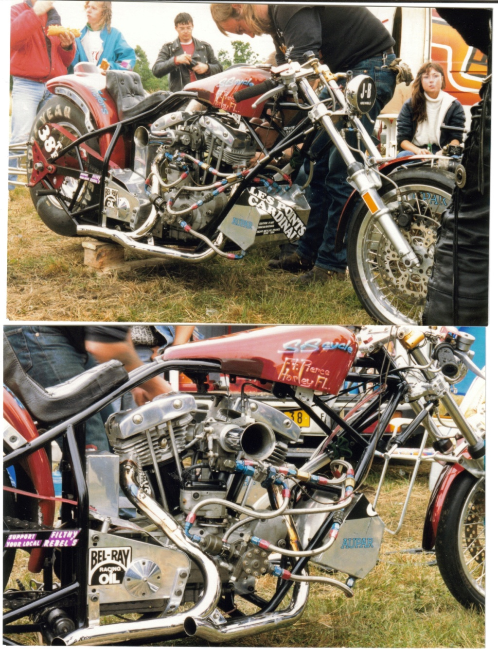 dragster guiscriff 1989 Harley10