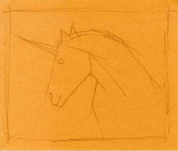 """Le percheron """"licorne"""" 120110"""