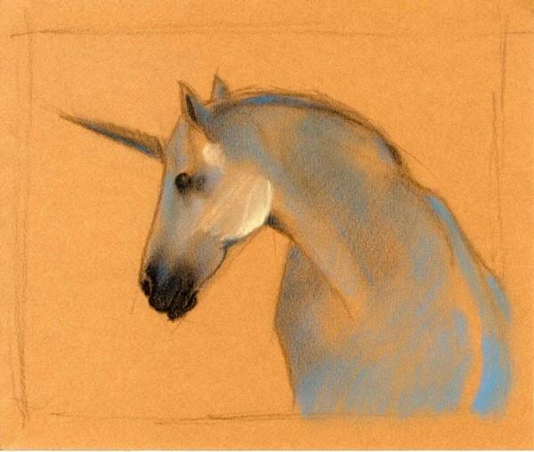 """Le percheron """"licorne"""" 320311"""