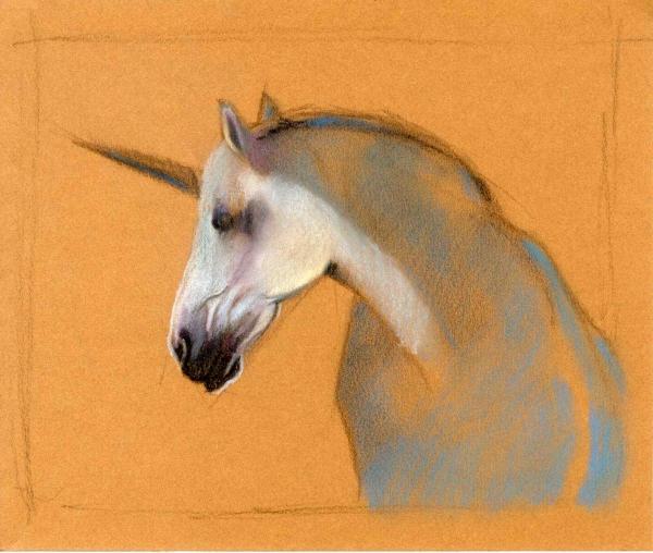 """Le percheron """"licorne"""" 420410"""