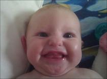 KATHERINE SHELBIE ELIZABETH PHILLIPS 4 months - Ludington, Michigan (USA) - 29/06/11           Kate10