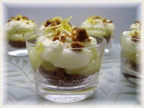 Verrine « tarte au citron » 11253412