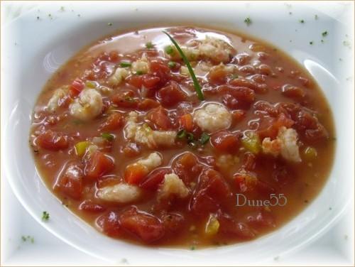 Soupe crevettes épicée 21191111