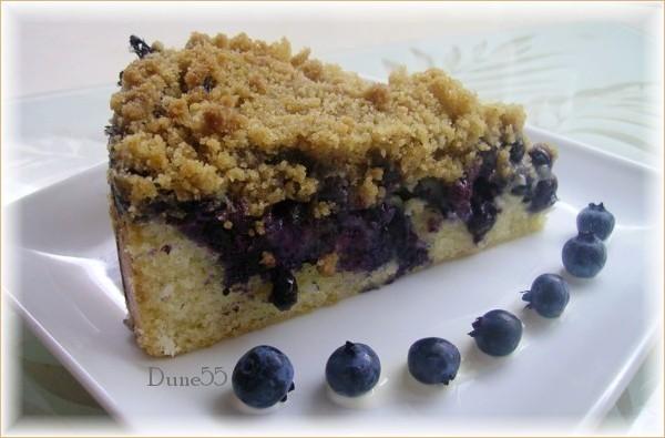 Gâteau crousti moelleux aux bleuets 25464010