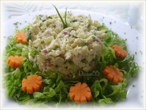 Salade de riz et poulet au cari Pict0413