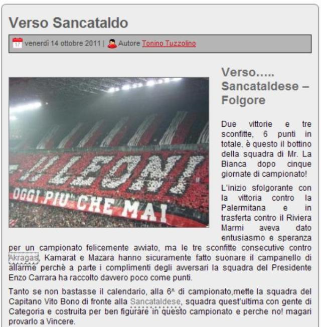 Campionato 6° Giornata: Sancataldese - Folgore 5-0 124