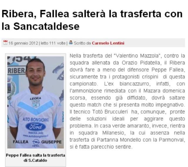 Campionato 18° Giornata: Sancataldese - Ribera 1-1 140