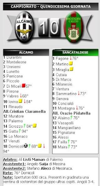 Campionato 15° Giornata: Alcamo - Sancataldese 1-0 234