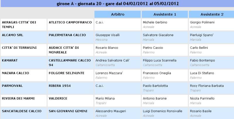 Campionato 20° Giornata: Sancataldese - S. G. Gemini 2-0 Aia25