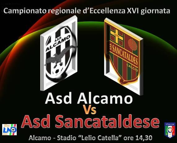 Campionato 15° Giornata: Alcamo - Sancataldese 1-0 Alcasa10