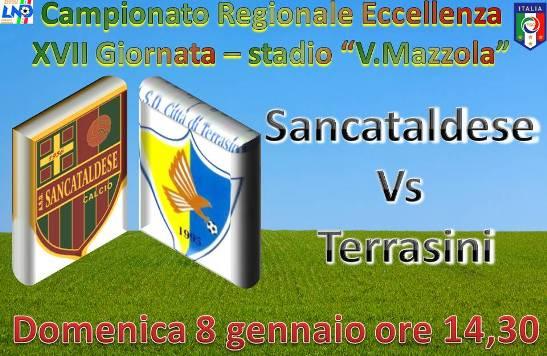 Campionato 16°giornata:Sancataldese - Città di Terrasini 5-2 Presen11