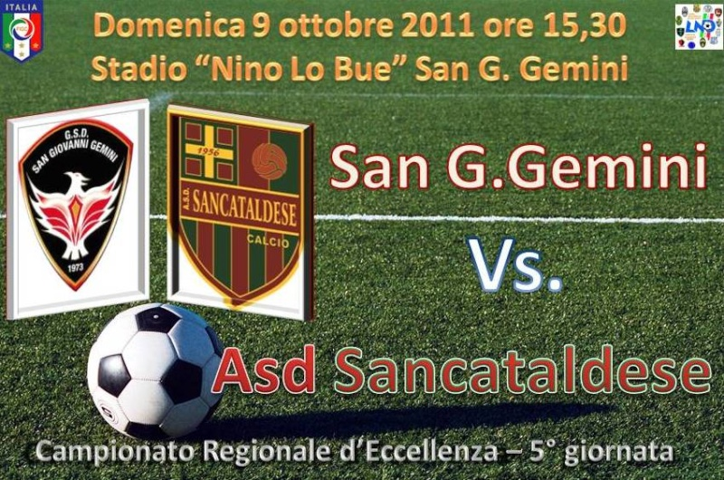 Campionato 5° Giornata: San G. Gemini - Sancataldese 0-0 Sgg_sa10