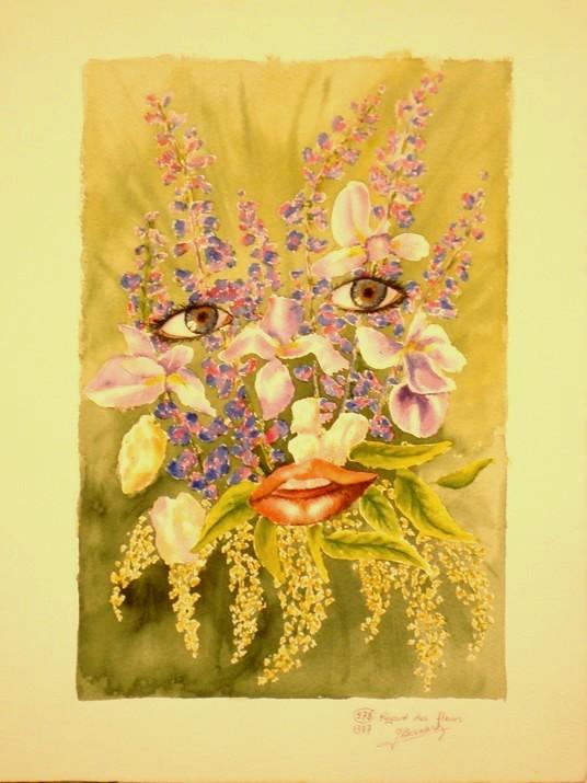 Nature morte, Fleurs  Fleur311