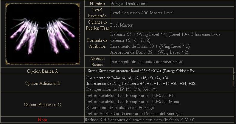[Guia] Opciones de alas S3 Alas310
