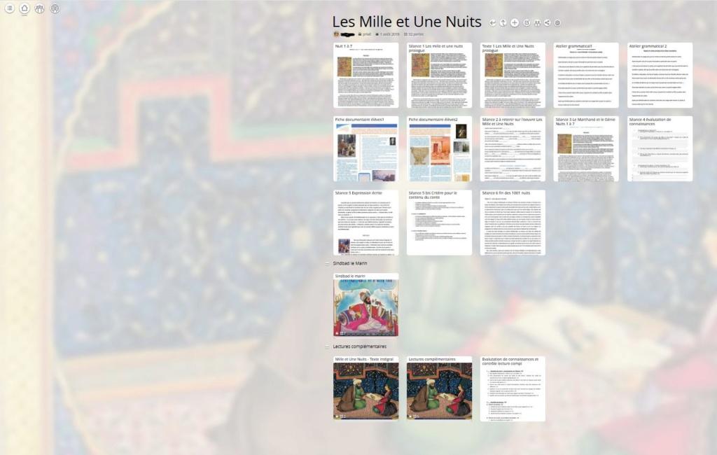 Utilisation pédagogique du site padlet + à propos de Pearltrees en alternative - Page 2 Mur_1010