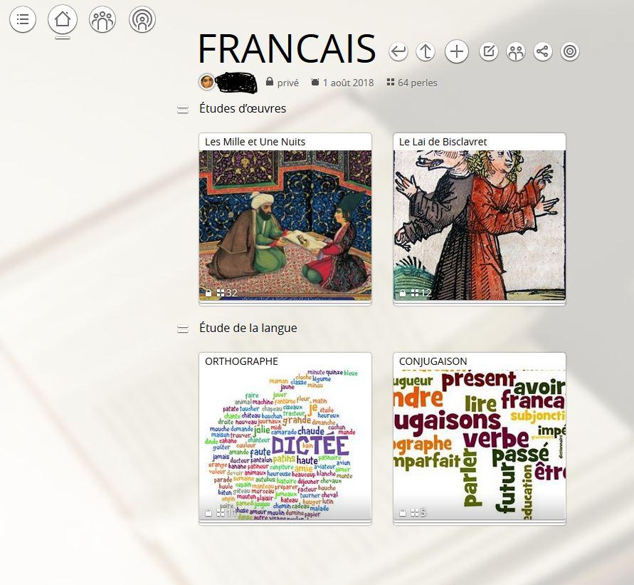 Utilisation pédagogique du site padlet + à propos de Pearltrees en alternative - Page 2 Mur_fr10