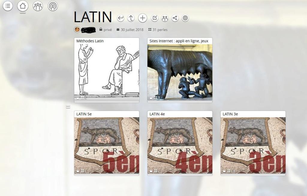 Utilisation pédagogique du site padlet + à propos de Pearltrees en alternative - Page 2 Mur_la10